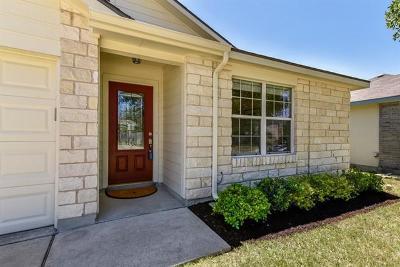 Manor Single Family Home Pending - Taking Backups: 18413 Maxa Dr