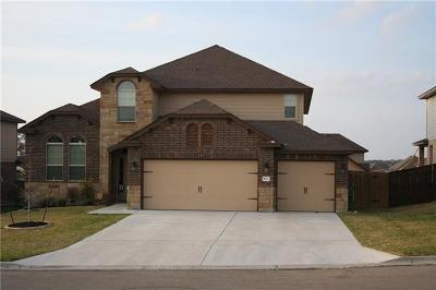 Harker Heights Single Family Home For Sale: 811 Terra Cotta Ct
