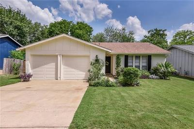 Hays County, Travis County, Williamson County Single Family Home For Sale: 2804 Dillion Hill Dr