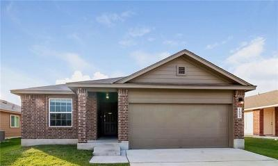 Lockhart Single Family Home For Sale: 1609 Wedgewood Trl