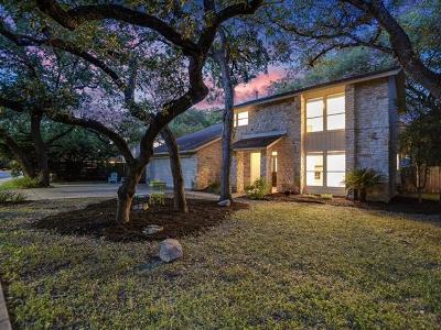 Travis County Single Family Home Pending - Taking Backups: 5012 Trail West Dr