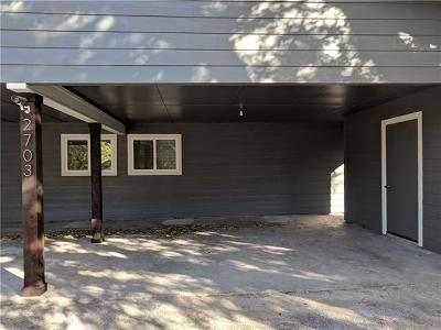 Austin Rental For Rent: 2703 Mulford Cv #B