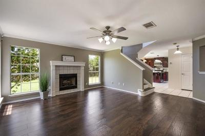 Round Rock Single Family Home For Sale: 1403 Quicksilver Cir