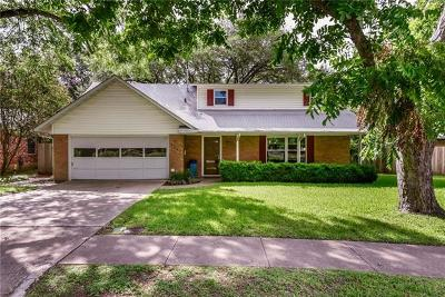 Austin Single Family Home For Sale: 6307 Treadwell Blvd