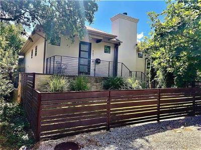 Austin Condo/Townhouse For Sale: 507 Upson St #1