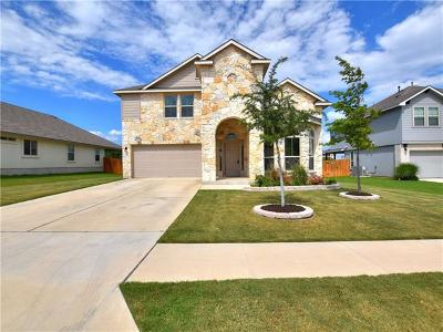 Leander Single Family Home For Sale: 1016 Peregrine Way