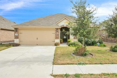 Manor Single Family Home For Sale: 13329 Clara Martin Rd