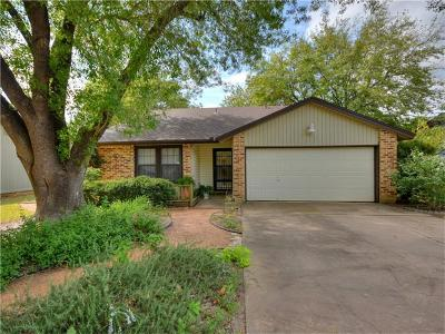 Round Rock Single Family Home For Sale: 1205 Yorkshire Ln