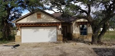 Burnet County Single Family Home Pending - Taking Backups: 405 Dove Trl
