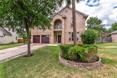 Hays County, Travis County, Williamson County Single Family Home For Sale: 2817 Clayera Cv