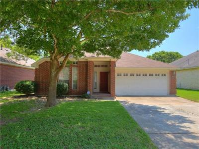 Pflugerville Single Family Home Pending - Taking Backups: 20901 Pacers Gait Ln