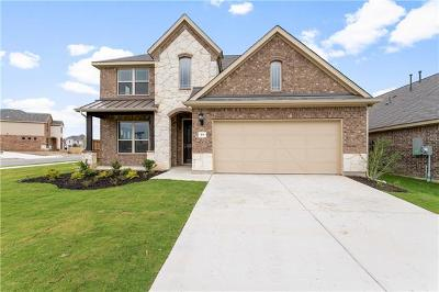 Leander Single Family Home For Sale: 101 Concho Creek Loop