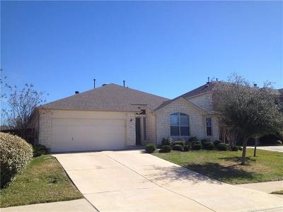 Round Rock Rental For Rent: 4105 Meadow Bluff Way