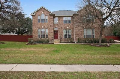 Round Rock Single Family Home For Sale: 3011 Indigo Trl