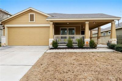 Round Rock Single Family Home Pending - Taking Backups: 527 Tumlinson Fort Way
