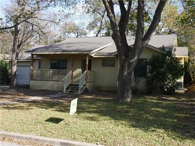 Travis County Single Family Home Pending - Taking Backups: 6201 Shoalwood Ave