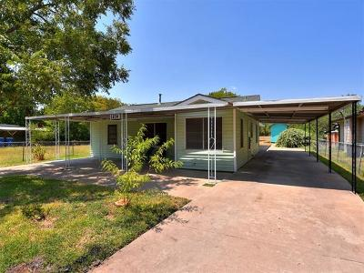 Hays County, Travis County, Williamson County Single Family Home Pending - Taking Backups: 1204 Vargas Rd