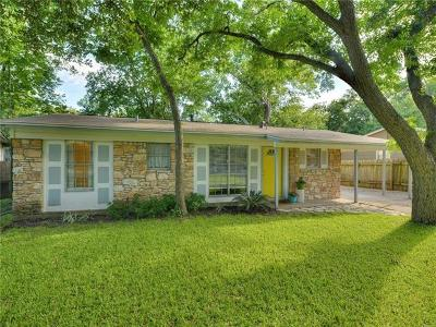 Travis County Single Family Home For Sale: 605 Amesbury Ln