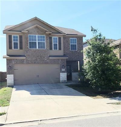 Buda, Kyle Single Family Home For Sale: 1673 Breanna Ln