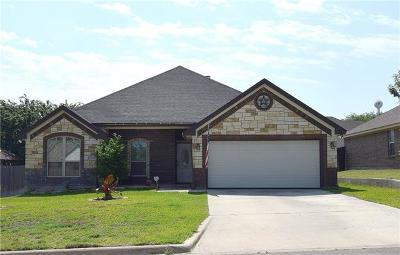 Harker Heights Single Family Home For Sale: 2514 Jackson Dr