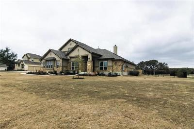 Williamson County Single Family Home For Sale: 2641 Great Owl Pass