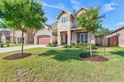Leander Single Family Home For Sale: 2213 Manada Trl