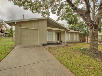 Travis County Single Family Home Pending - Taking Backups: 5207 Halmark Dr