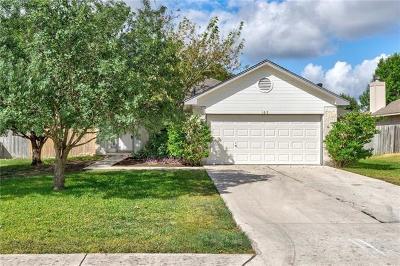 Kyle Single Family Home For Sale: 169 Keystone Loop