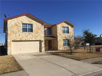 Hutto Single Family Home Pending - Taking Backups: 240 Holman Path