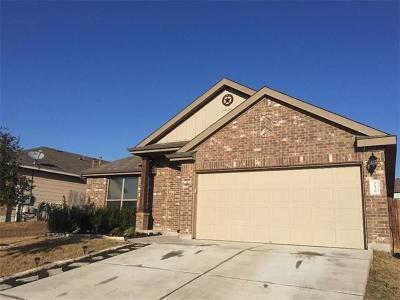 Buda Single Family Home For Sale: 239 Dragon Ridge Rd
