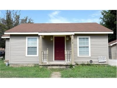 Killeen Single Family Home For Sale: 709 Attas Ave