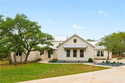 Dripping Springs TX Single Family Home For Sale: $900,000