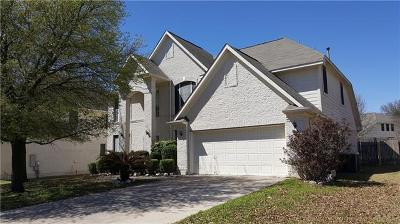 Pflugerville Single Family Home For Sale: 824 Broken Feather Trl