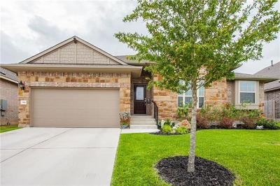 Hutto Single Family Home For Sale: 144 Kirkhill St