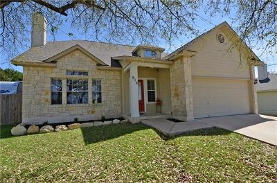 Spicewood Single Family Home For Sale: 515 Ronay Dr