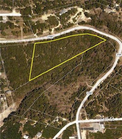 Volente Residential Lots & Land For Sale: 15421 Fm 2769 Rd