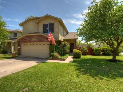 Round Rock Single Family Home For Sale: 3937 Upper Passage Ln