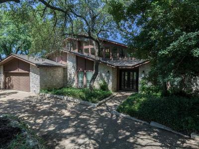 Travis County Single Family Home Pending - Taking Backups: 1400 Falcon Ledge Dr