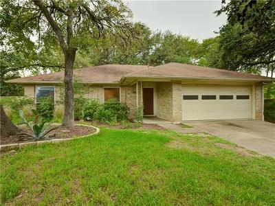 Austin Single Family Home Pending - Taking Backups: 1406 Radam Cir