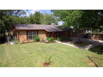 Williamson County Single Family Home Pending - Taking Backups: 407 E Davilla St