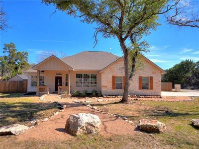 Wimberley Single Family Home Pending - Taking Backups: 3 Wide Canyon Dr