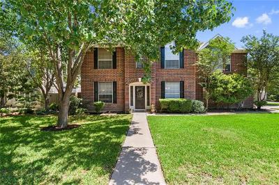 Cedar Park Single Family Home For Sale: 804 Crocus Dr