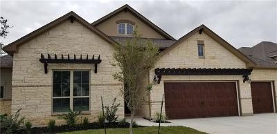 Round Rock Single Family Home For Sale: 3813 Stanyan Dr