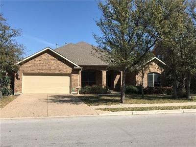 Cedar Park Single Family Home For Sale: 102 N Saddle Ridge Dr