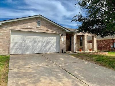 Leander Single Family Home For Sale: 306 Katherine Way