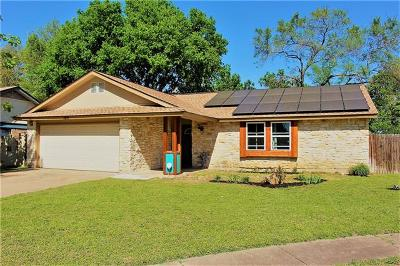 Round Rock Single Family Home For Sale: 1201 Mills Meadow Dr