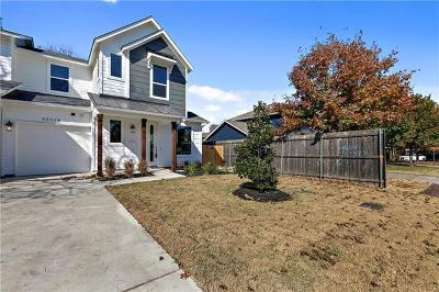 Travis County Single Family Home For Sale: 5604 Grover Ave #B