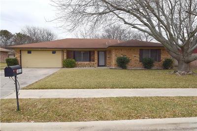 Killeen Single Family Home For Sale: 1804 E Kangaroo Ave E