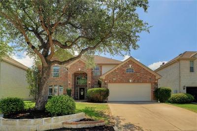 Cedar Park Single Family Home Pending - Taking Backups: 2908 Cashell Wood Dr