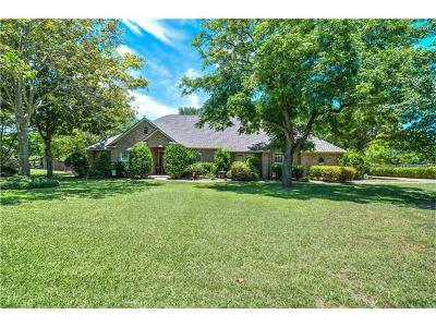 Round Rock Single Family Home For Sale: 66 Woodland Ln
